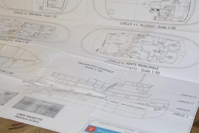 Mezzo secolo di sibma navale italiana dalla costruzione e for Piani di costruzione del garage