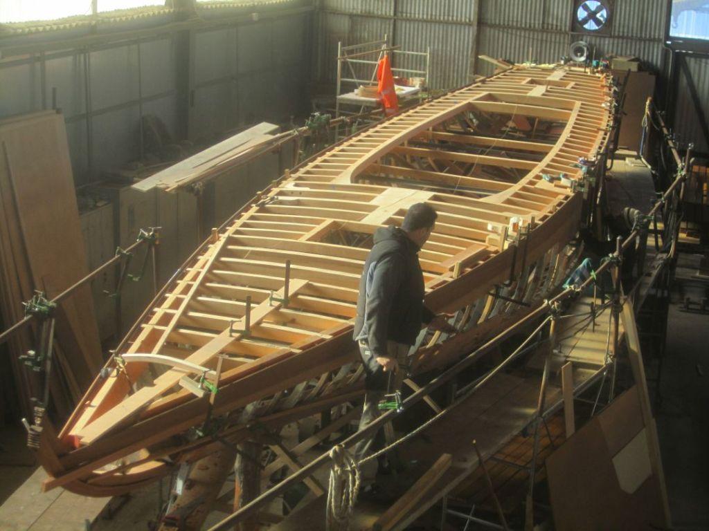 Il cantiere tecnomar restaura marga for Piani di coperta compositi