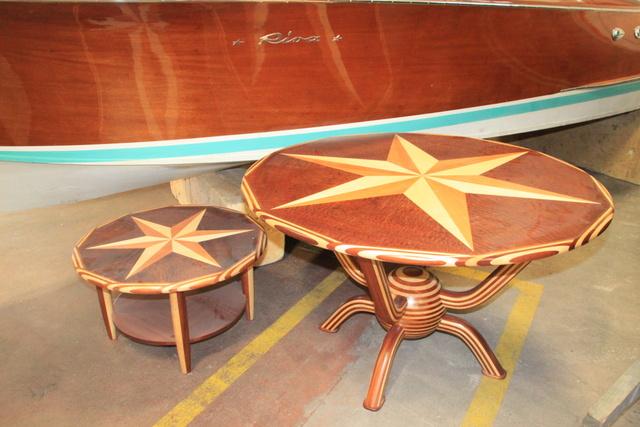Cantiere ernesto riva la tradizione ultracentenaria del for Lago tavolini salotto