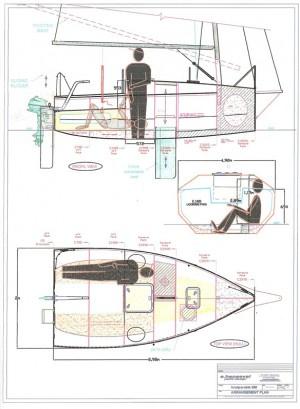 Inseparable 398 la micro barca con l anima in legno for Piani artistici per artigiani con suite di artisti