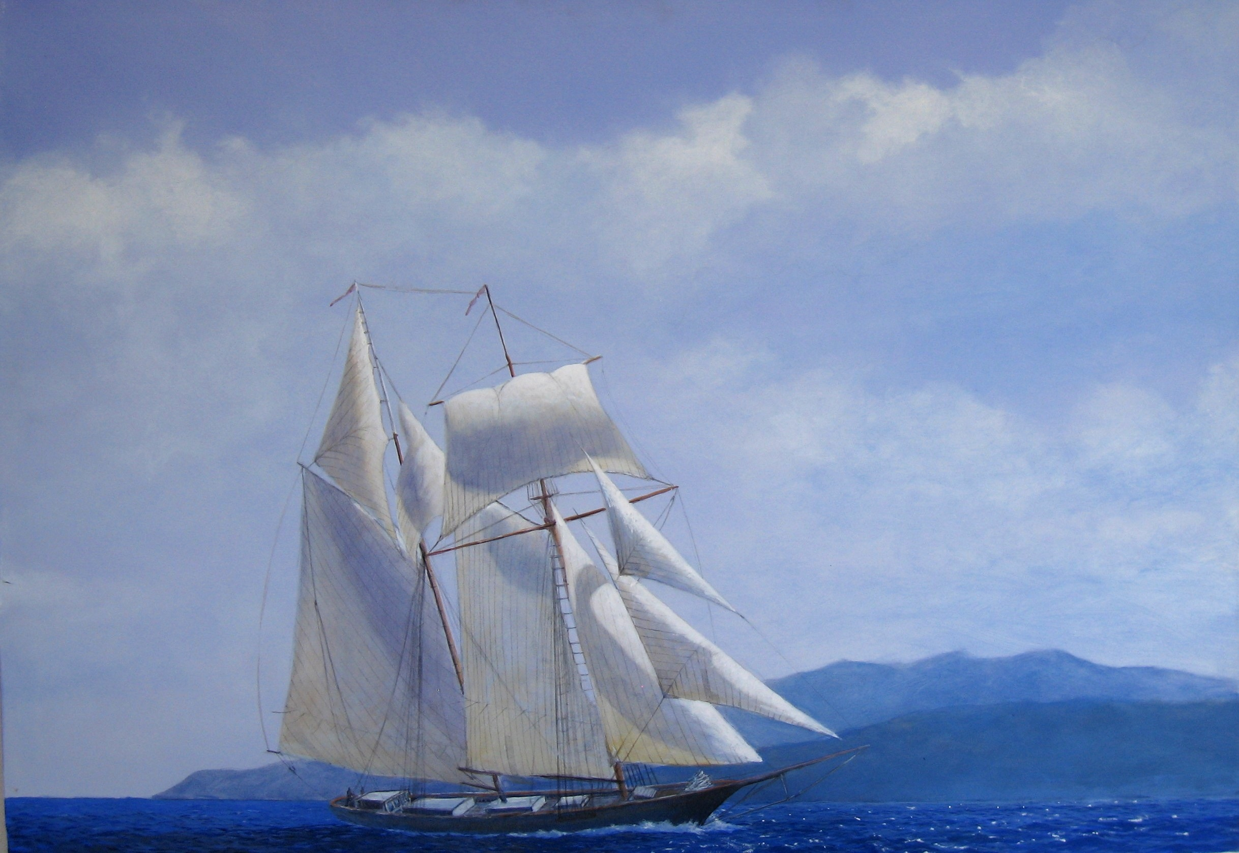Il Piccolo Cabotaggio Nel Mar Tirreno Attraverso I Dipinti Di Sandro